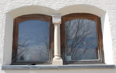 Fensterbank Naturstein Platten Stein Steinsäule Stein Säule Kapitel Sims Fenstersims Fensterbänke
