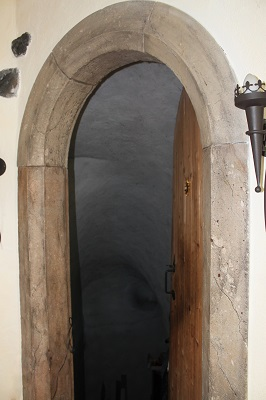 Türstock Türportal Treppe Massiv Massivstiege Stein Steinstiege Rustikal Marmor Granit